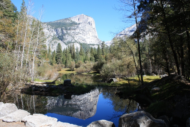 Another recent reflection - Half Dome of Yosemite on Mirror Lake - Inspirational!